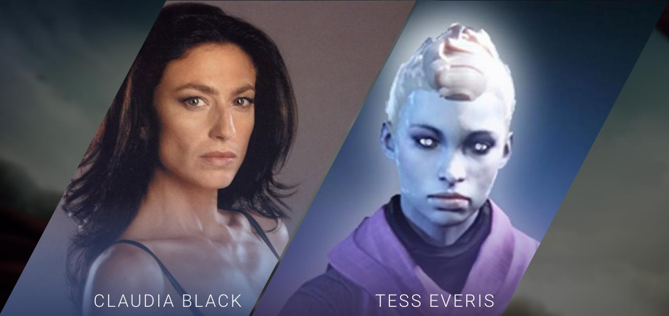 Claudia Black - Tess Everis