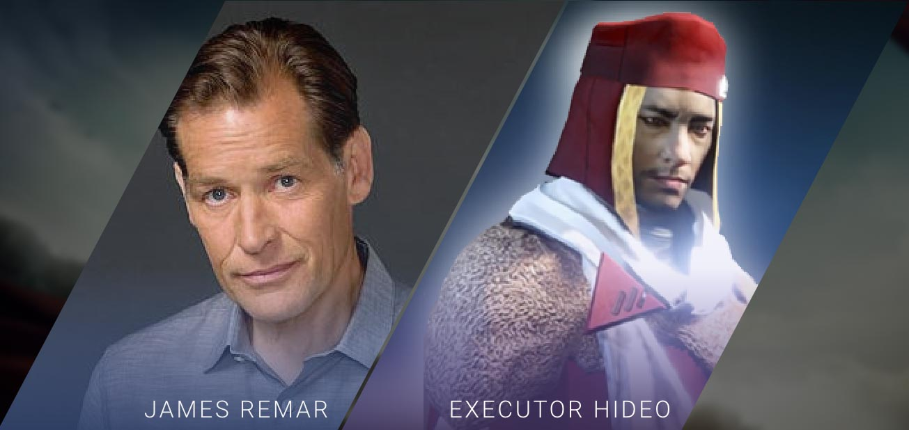 James Remar - Executor Hideo
