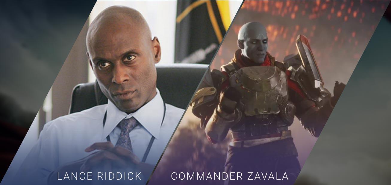 Lance Riddick - Commander Zavala