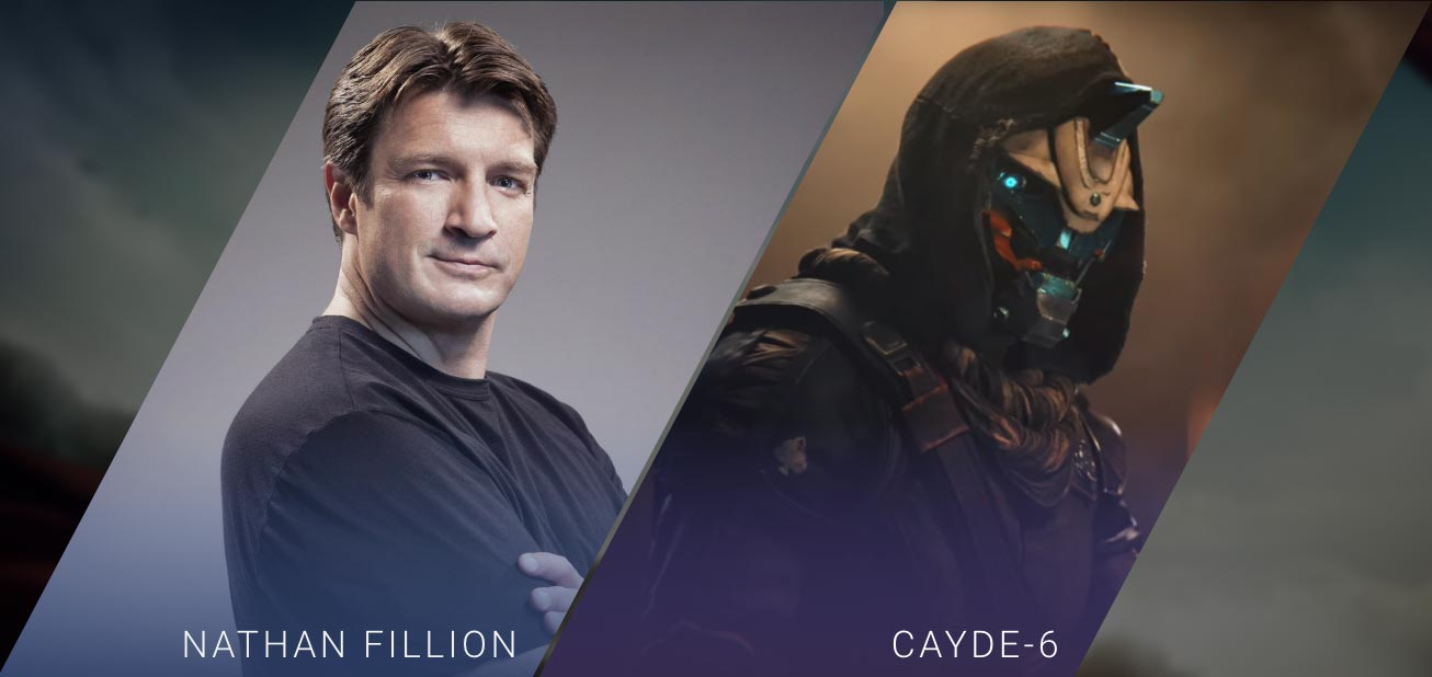 Nathan Fillion - Cayde-6