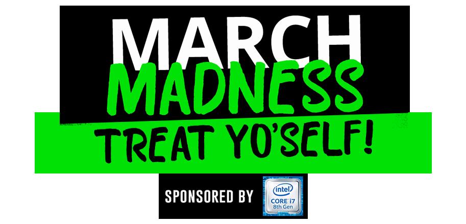 March Madness Treat Yo'Self Logo